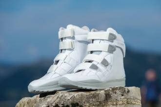 Stabil-Klett Weiß
